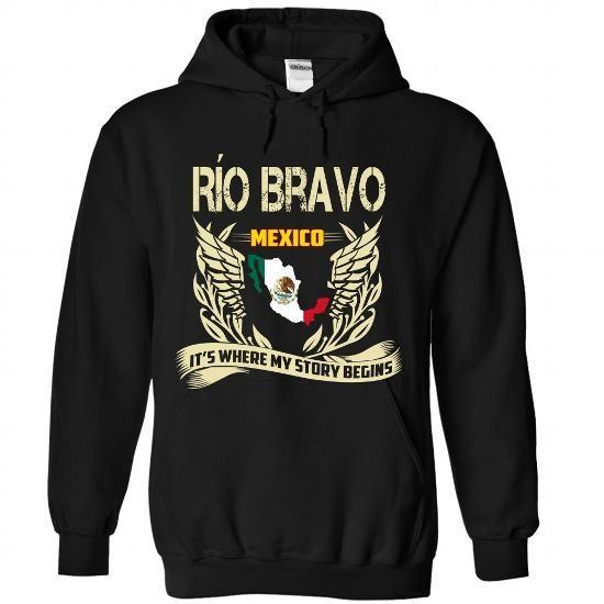 Rio Bravo - ITS WHERE MY STORY BEGINS - #tee ball #tshirt serigraphy. BUY NOW => https://www.sunfrog.com/LifeStyle/Rio-Bravo--IT-Black-Hoodie.html?68278