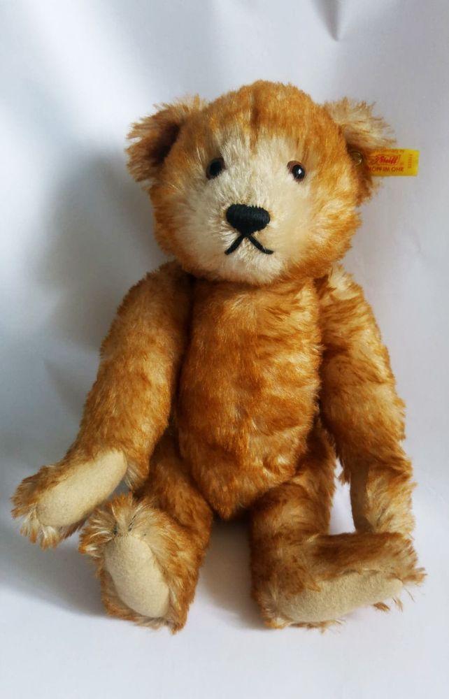 71535211a89e9a Vintage Steiff Petsy teddy bear 1928 EAN 996000 / 000966, growler, 32 cm # Steiff