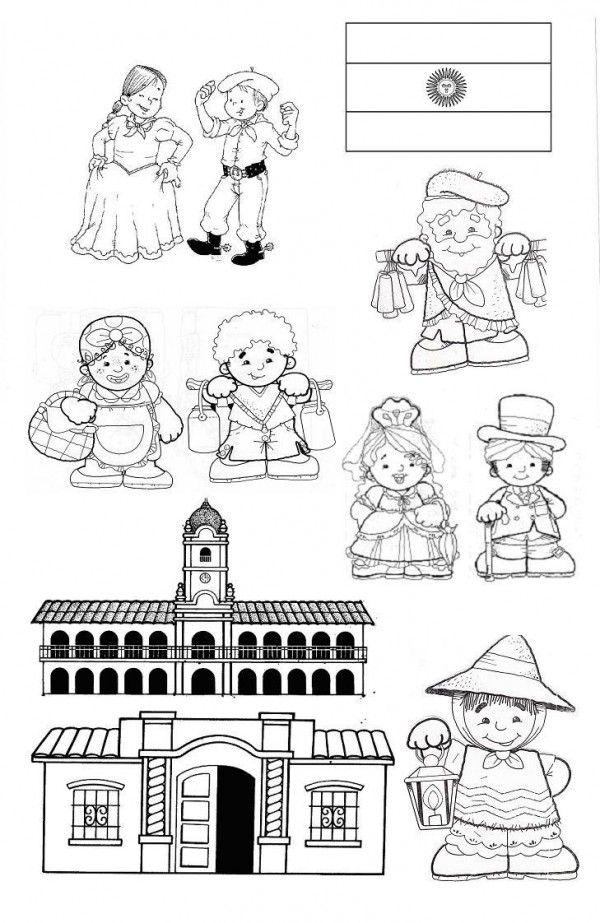 colorear imagenes epoca colonial - Buscar con Google
