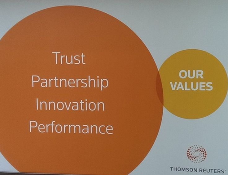 Thomson Reuters is going to want its money back from this campaign.