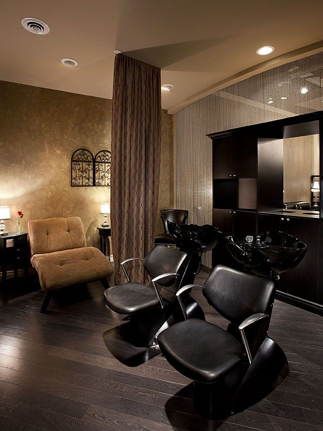 Salon lux salon decor equipment and design pinterest for A luxe beauty salon