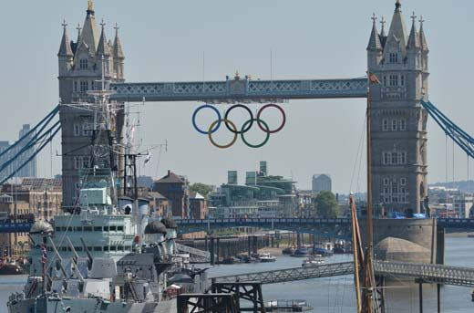 Just a few short days before the 2012 Summer Olympic Games kick off in merry old England.