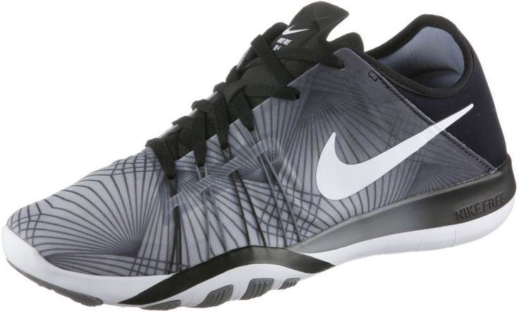 #Nike #Free #TR #6 #Print #Fitnessschuhe #Damen #schwarz/grau