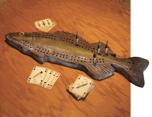Fish Cribbage Board