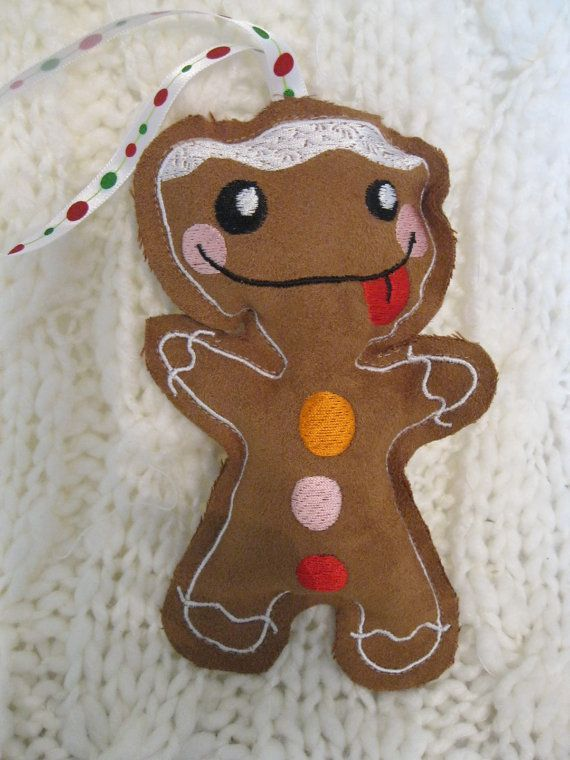 CLEARANCE Sale on Smilin' Gingerbread Dude by BrambleWoodANDivy