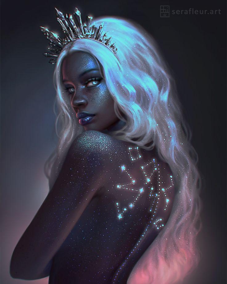 Ceres by serafleur.deviantart.com on @DeviantArt - More at https://pinterest.com/supergirlsart #female #fantasy #art