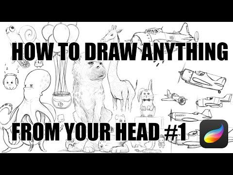 How To Draw Anything From Your Head #1 - YouTube