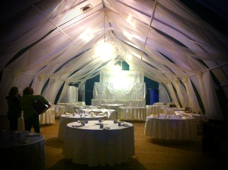 Canvas Tent Drape Canvas tent, Cabin design, Tent