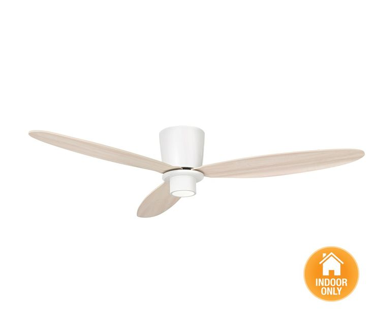 Airfusion Radar 132cm DC Fan in White/Oak