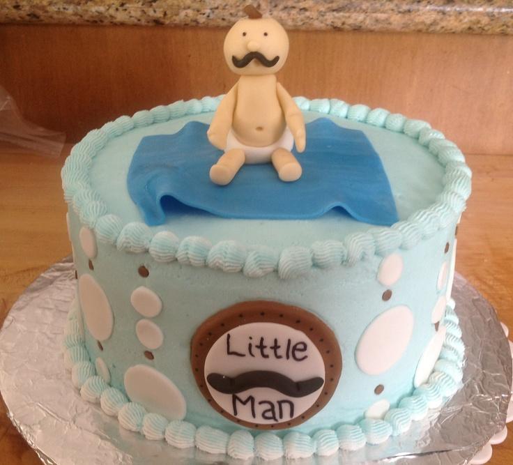 mustache themed baby shower cake baby shower cakes pinterest