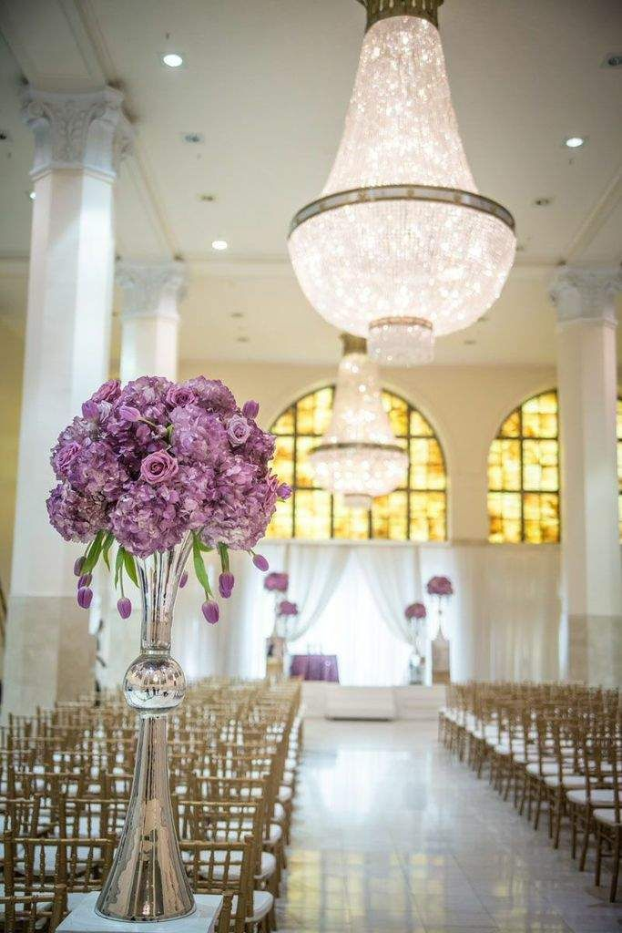 intimate wedding packages atlantga%0A Purple Hollywood Glam Atlanta Wedding at     Peachtree
