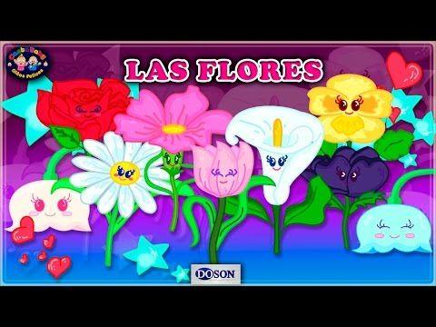 ♫ LAS FLORES ♫ Canciones Infantiles ♫Canta Baby♫ - YouTube