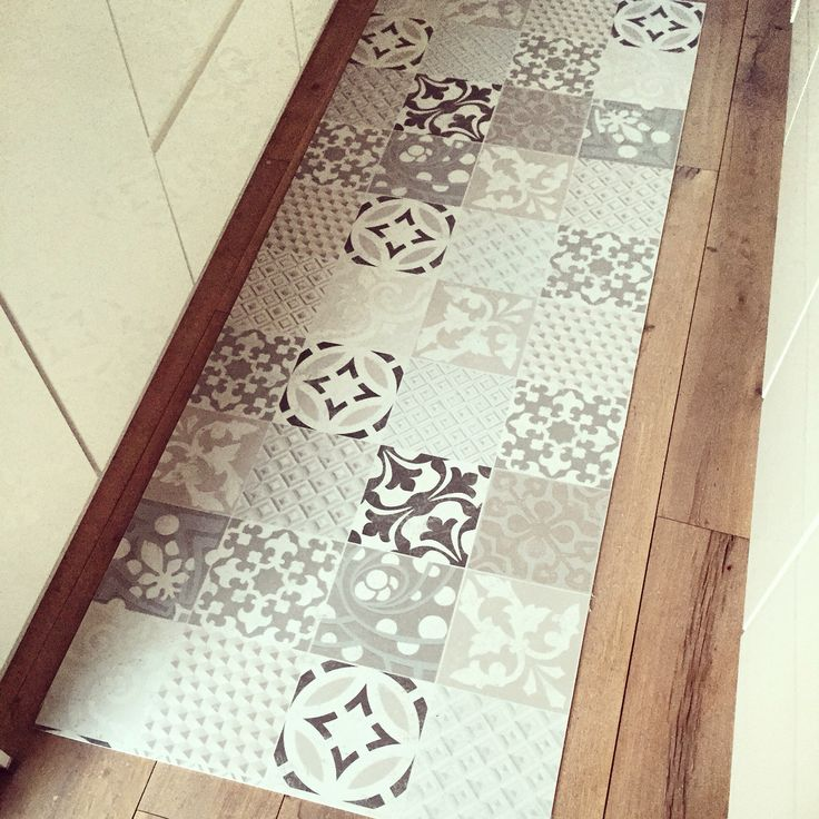 18 best images about rachel styliste on pinterest home pendant lamps and forests - Tapis cuisine carreaux ciment ...