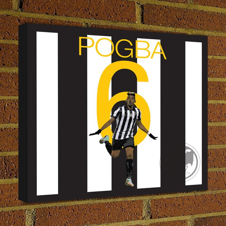 Square Canvas Wrap Soccer Art Print Paul Pogba Juventus Soccer Poster wall decor home decor, Pogbai print, Juventus poster by Graphics17 on Etsy