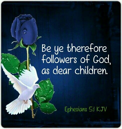 Ephesians 5:1 KJV