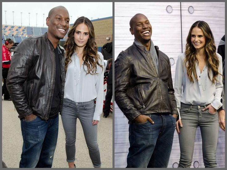 Tyrese Gibson and Jordana Brewster