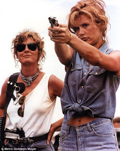 Geena Davis  and Susan Sarandon in Thelma & Louise (1991)