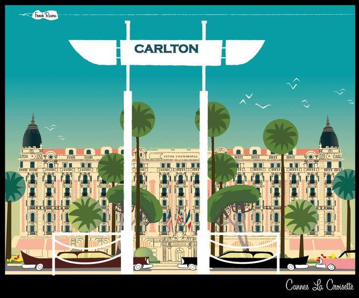 Cannes la croisette /Monsieur.Z