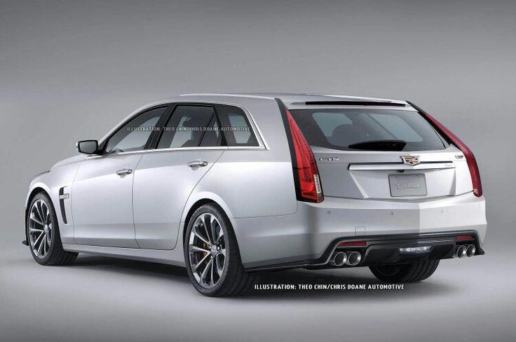 2016 Cadillac CTS Wagon prototype #Cadillac @cadillac