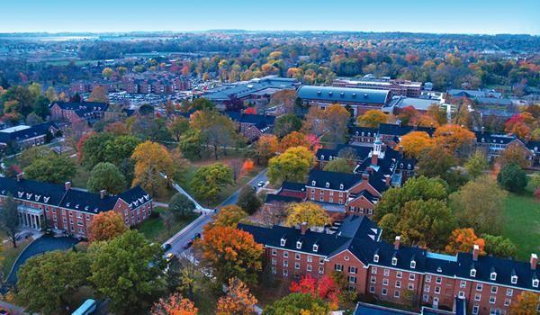 Xavier University campus in Cincinnati, Ohio