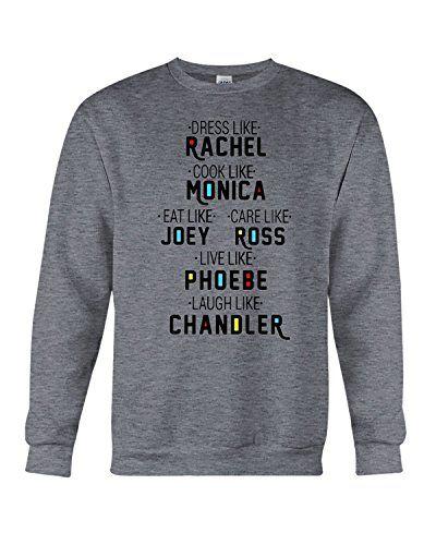 408556ddcb9 superhotapparel Friends TV Show Merchandise F.R.I.E.N.D.S Sweatshirt ( Inspired)