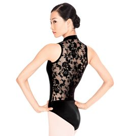 Lace Back Tank Leotard - Style No N8699