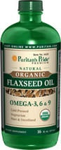 Flaxseed oil, so many benefits! Start it tomorrow   May support cardiovascular health.*  Flax oil can convert to beneficial omega-3 long-chain fatty acids eicosapentaenoic acid (EPA) and docosahexaenoic acid (DHA).