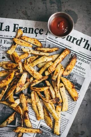French Fry Recipes French Fries On Newspaper