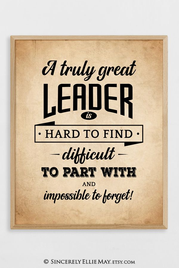 Great Male Leadership Quote Gifts Boy Scout Leaders Appreciation