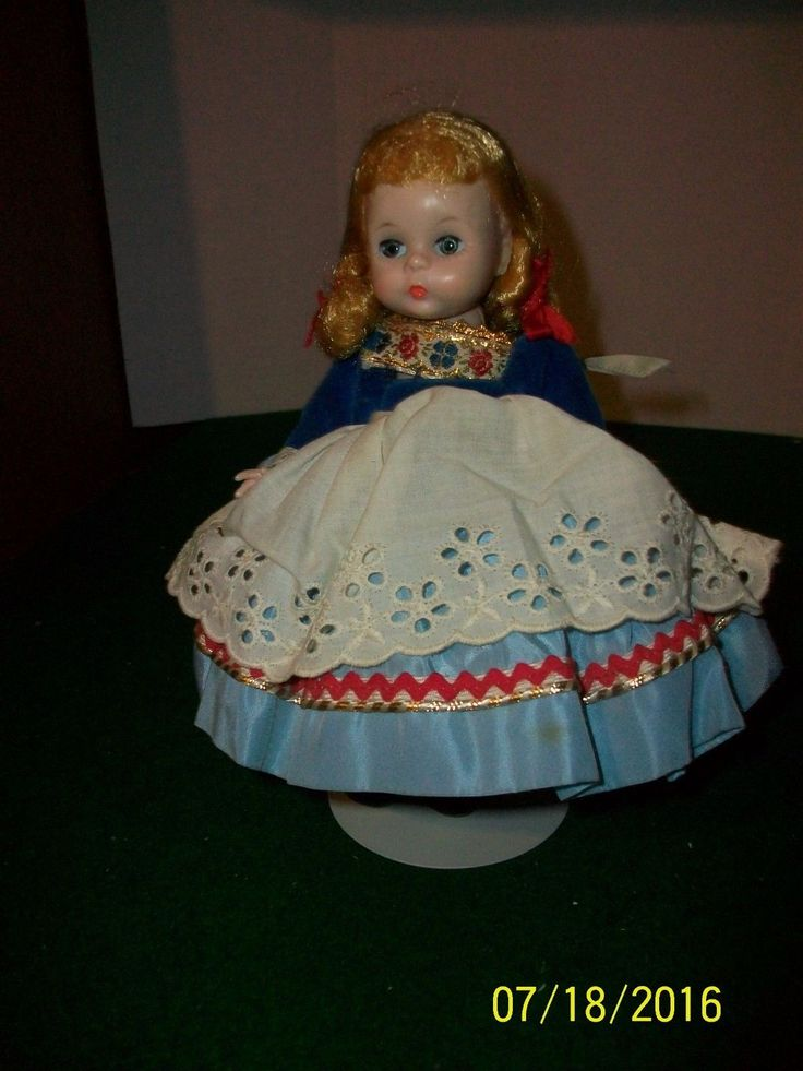 The doll is in very nice condition with very light surface wear. The dolls walking mechanism works very well. There is no box are other paperwork. I have described the item with all the issues I see. | eBay!