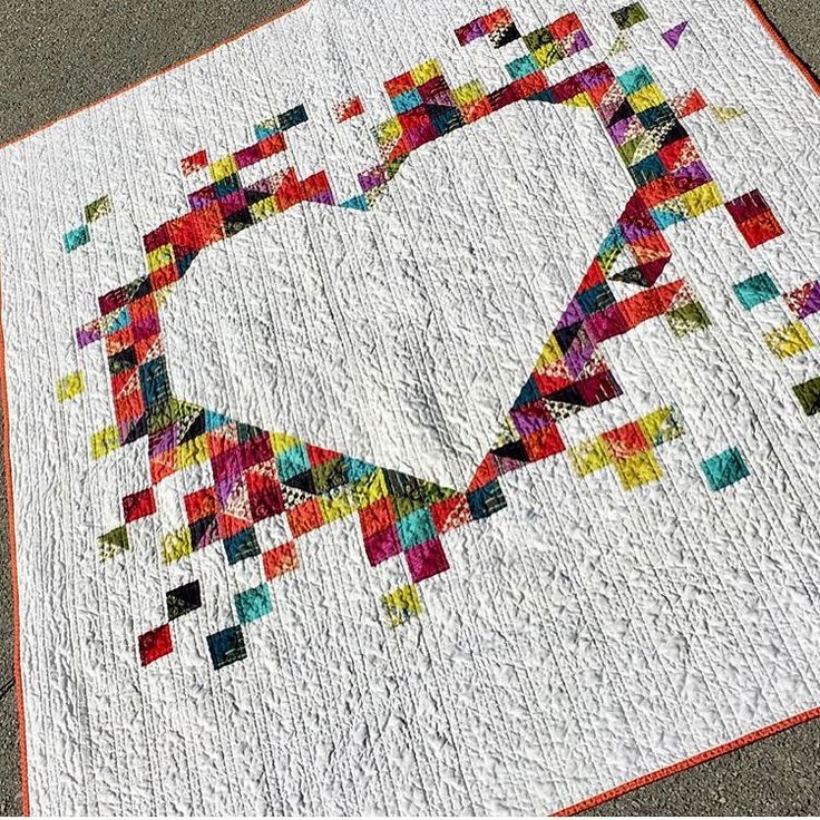 """558 Likes, 5 Comments - Beth   Stash Fabrics (@stashfabrics) on Instagram: """"What a perfect anniversary gift! Made by @quiltmoderne for her sisters in-laws. Just beautiful! --…"""""""