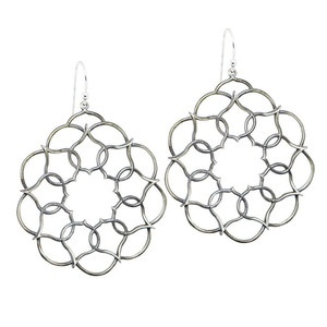 Rose Radius Earrings now featured on Fab.