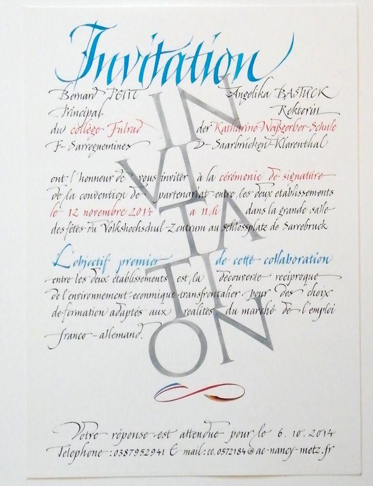 Rainer Wiebe Hot Buttered Calligraphy Pinterest