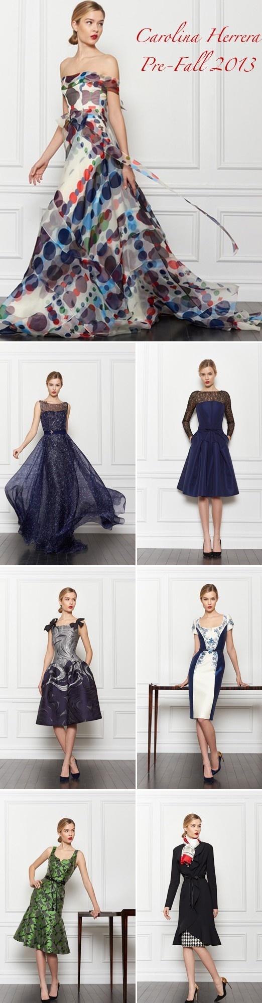 Carolina Herrera's Pre-Fall 2013 Collection ♥✤ | Keep the Glamour | BeStayBeautiful