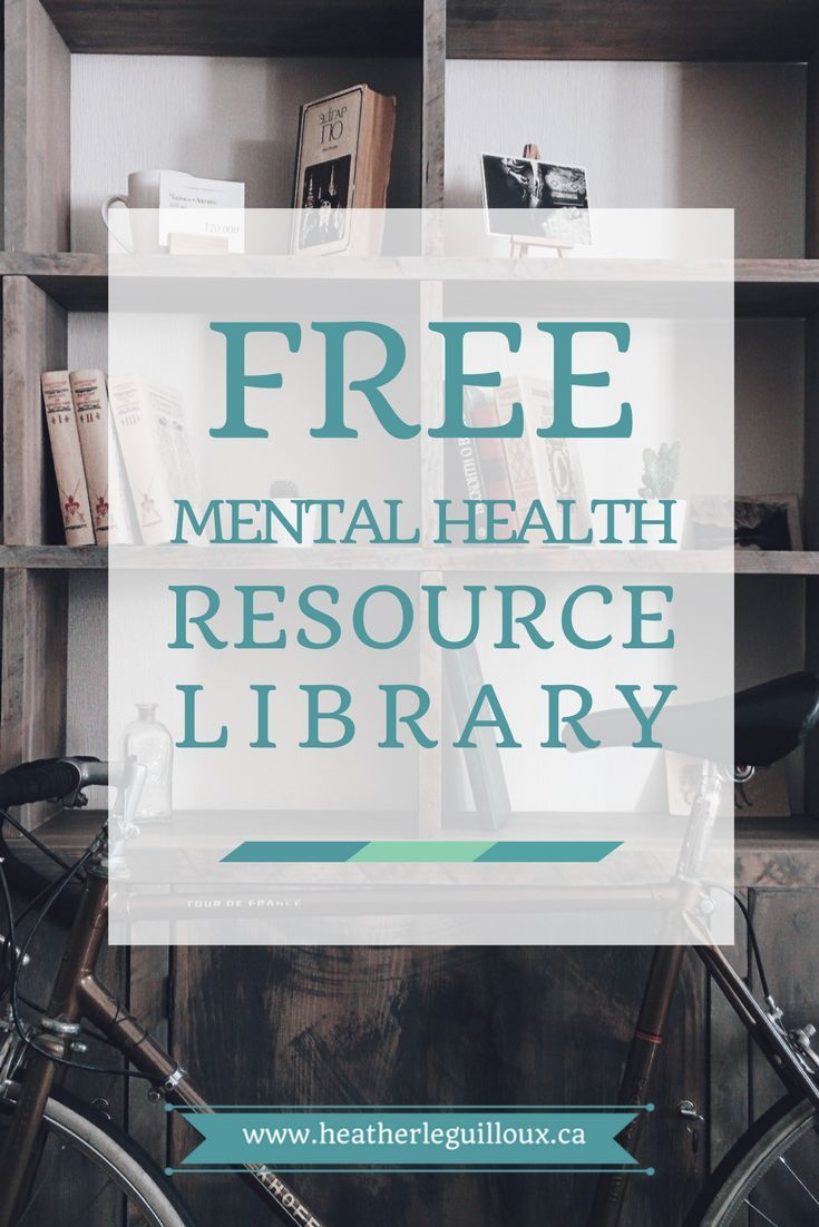 Free mental health resource library @hleguilloux including eBooks, printables, worksheets & more. Topics include anxiety, depression, self-care - updated frequently!