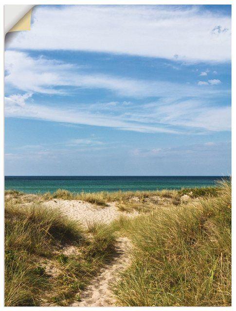 Premium Wandfolie »Anja Ergler: In den Dünen Dänemarks«