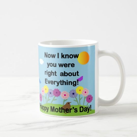 You were Right about Everything Coffee Mug
