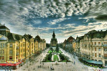 Timisoara Gallery - Victory Square - Copyright  Iulian Maiorescu Timisoara European Best Destinations #Timisoara #Romania #Travel #Europe  #ebdestinations @ebdestinations