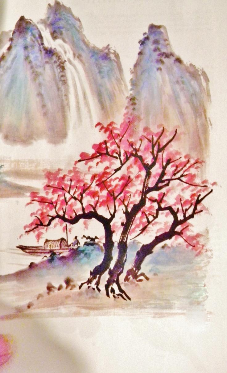 Watercolor art history brush - Chinese Brush
