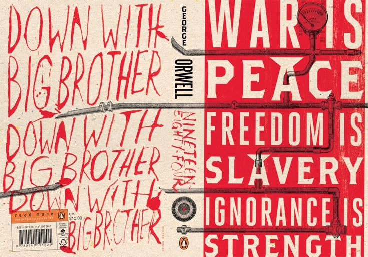 1984 jacket designed by gray318 for Penguin1984 Book, George Orwell, Big Brother, Covers Design, 60Th Anniversaries, Book Covers, Book Design, Book Jackets, Bookdesign