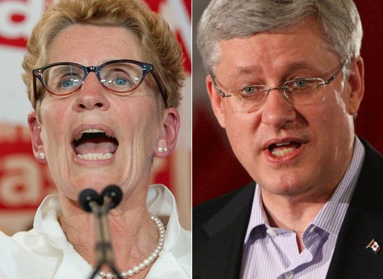 Stephen Harper And John Tory Meet, But PM Has No Time For Kathleen Wynne