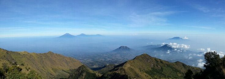 Top of merbabu