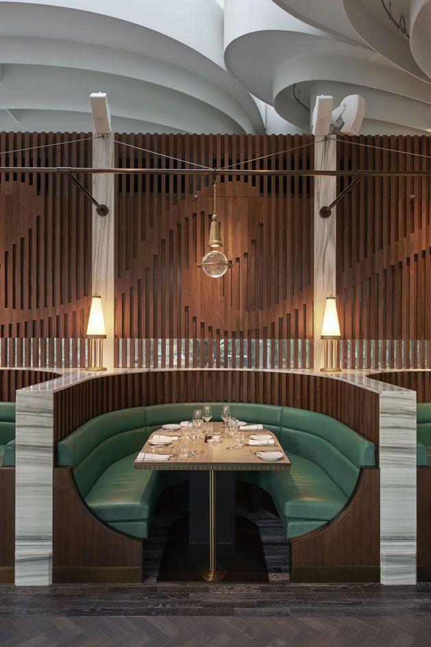 The Continental — Hong Kong. China   Restaurant lighting. Cafe design. Design