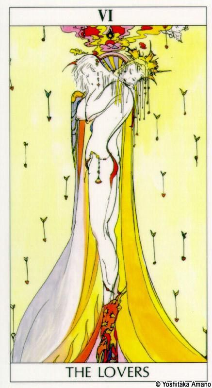new tattoo inspiration, the lovers tarot card, also associated with geminis, hope to get this soon