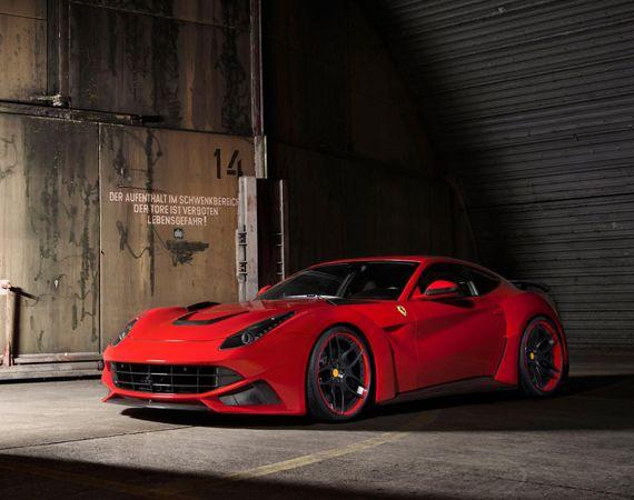 Ferrari F12berlinetta N-Largo Tuned | By Novitec Rosso