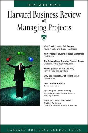 harvard business review project management pdf
