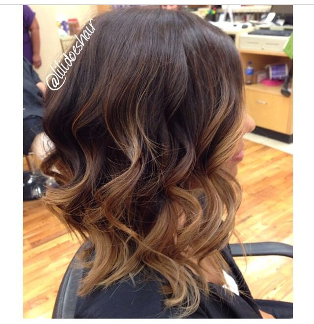 Ombre lob (long bob)