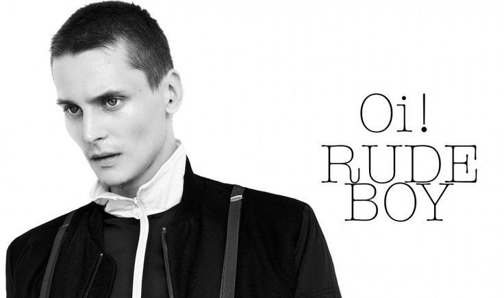 Tomek Szczukiecki is a Rude Boy by Piotr Porebsky for Fashionisto Exclusive