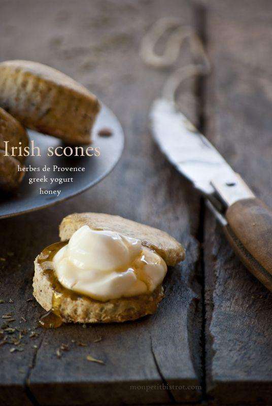 Irish scones & herbes de Provence