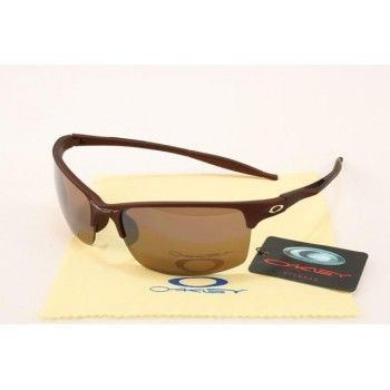 Imitation Oakley Half Wire 2.0 Sunglasses matte deep brown frames brown lens | See more about oakley, sunglasses and frames.
